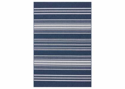 Matira Rug - Stripe Atlantic/Ivory