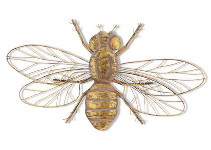 Déco murale abeille en vol Bernadine