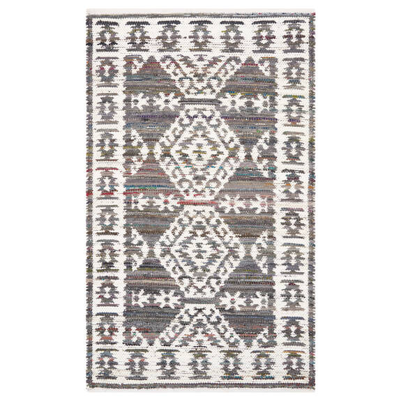 Marchant Accent Rug 36x60 Grey/White