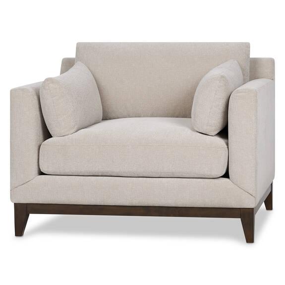 Ryerson Armchair -Rogen Stone