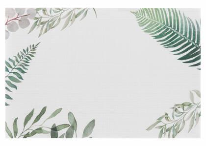 Napperon Botanique blanc/sauge