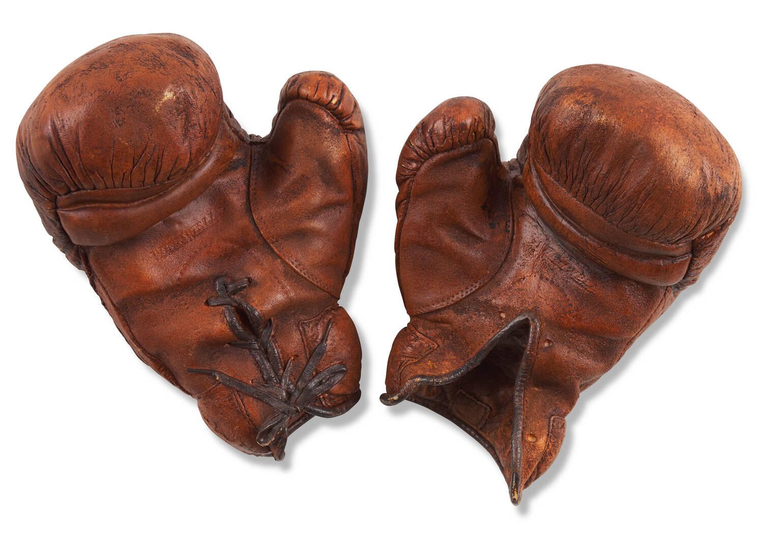 Déco gants de boxe Tyson