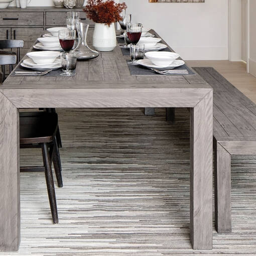 Northwood Ext Dining Table -Stanton Ash