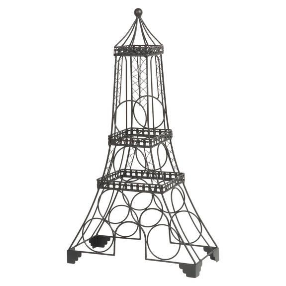 Eiffel Wine Rack Black