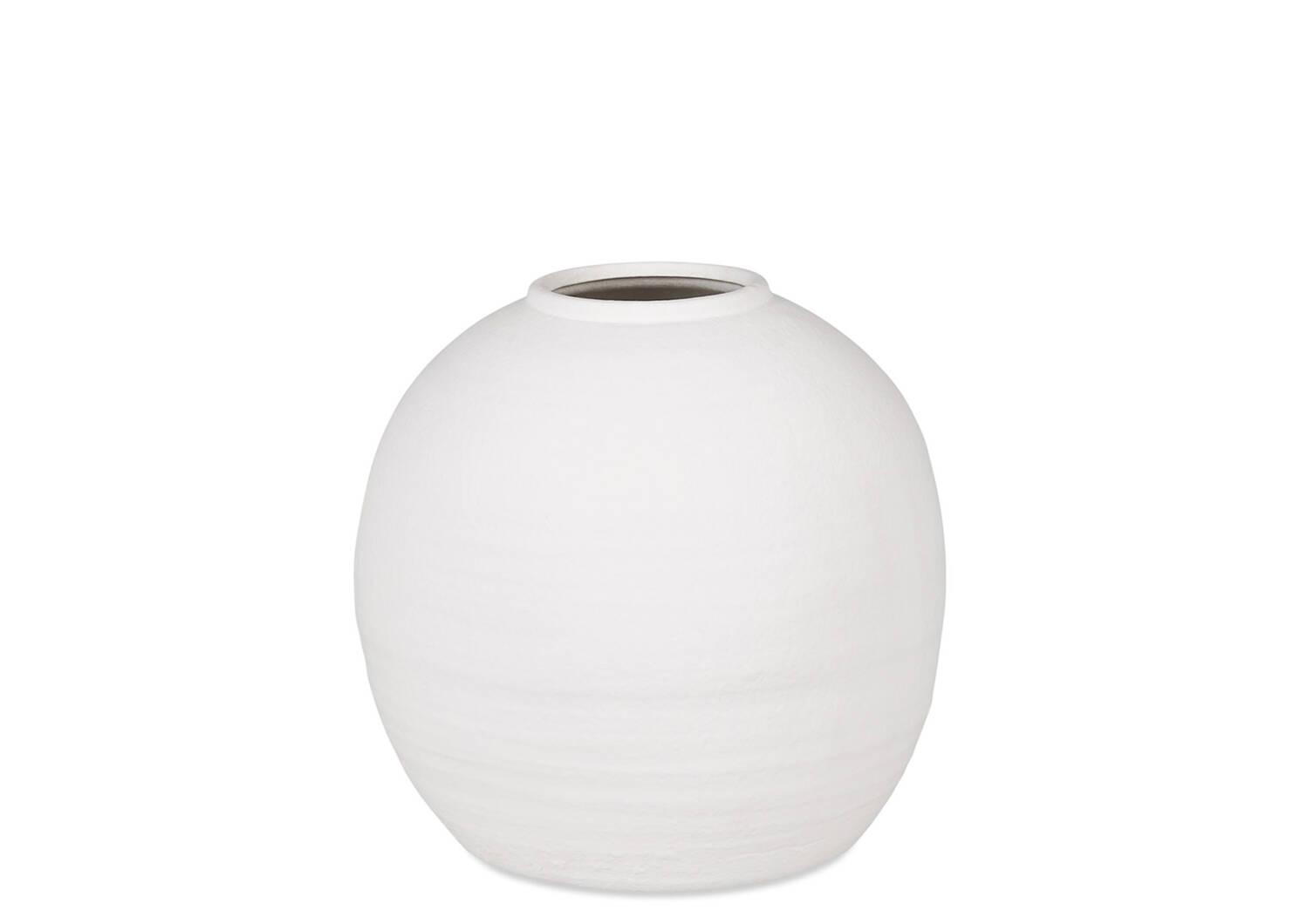 Petit vase Daleyza blanc