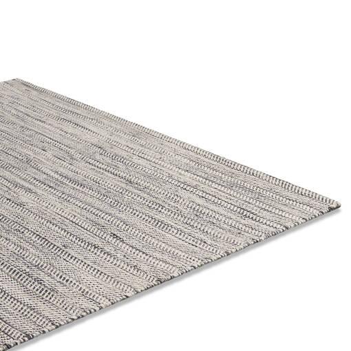 Tapis Grant 108x144 gris/blanc