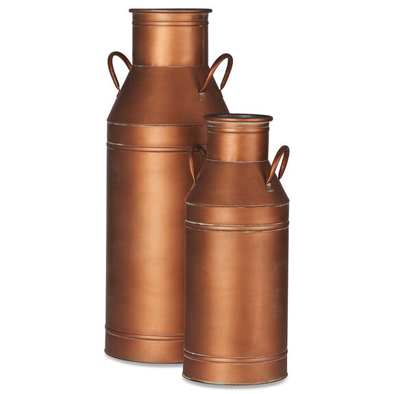 Netherfield Milk Cans -Copper