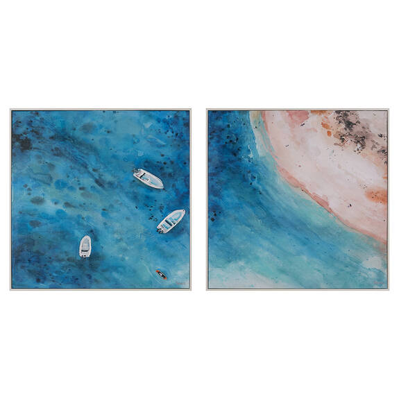 Coastal Retreat Wall Art Set