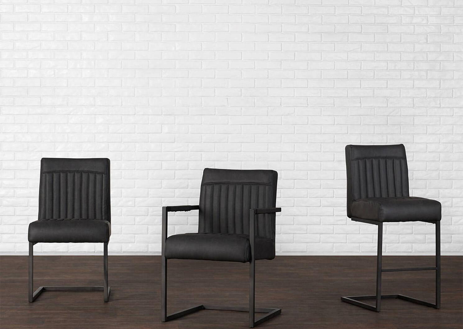 Barkley Arm Dining Chair -Scott Grey