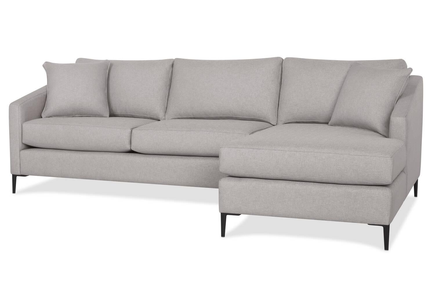 Canapé d'angle Hensley personnalisé