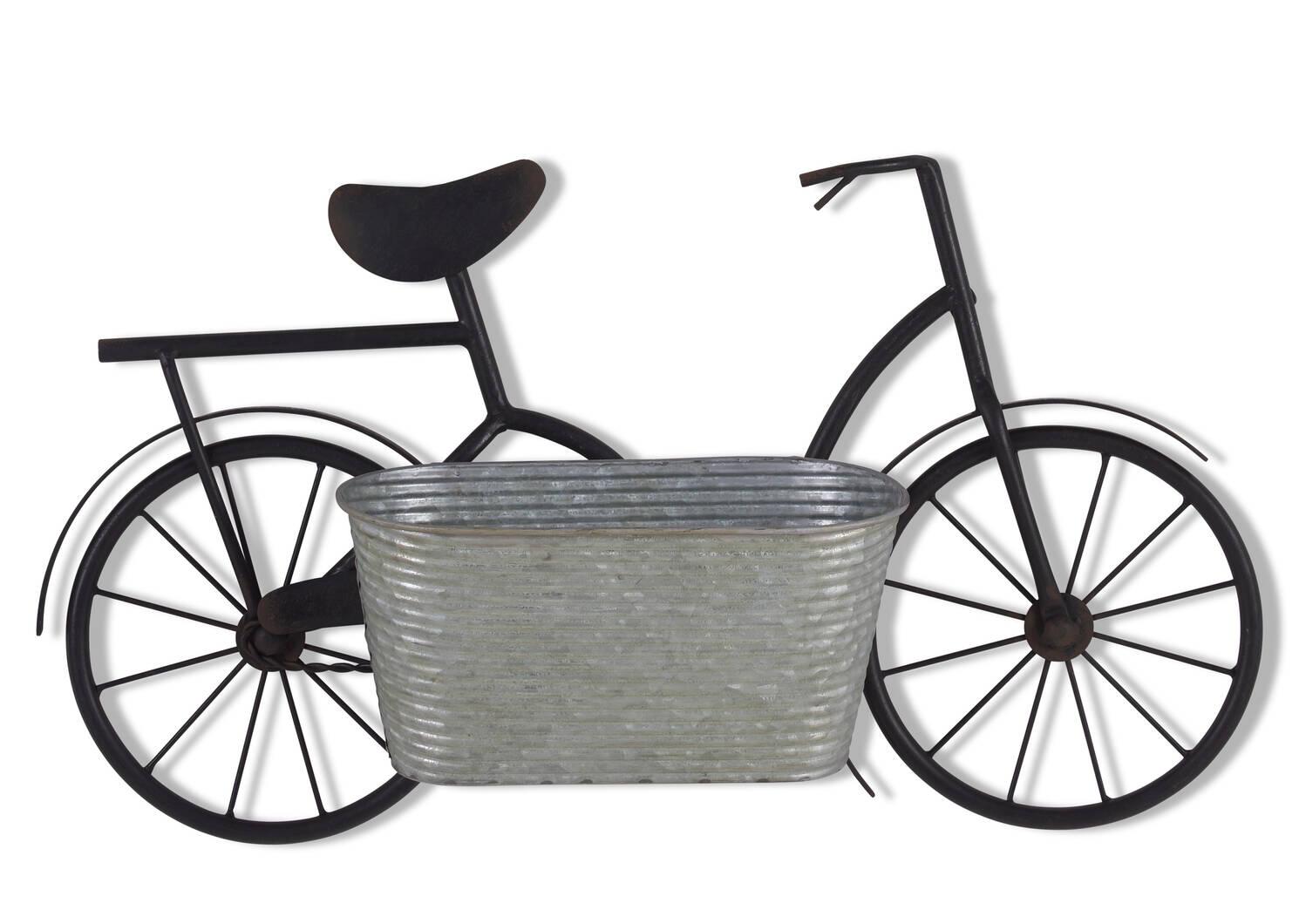 Alwyn Bicycle Wall Planter