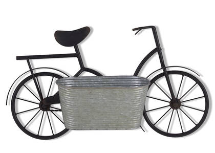 Alwyn Bicycle Wall Planter