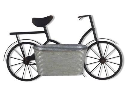 Jardinière mur. panier bicyclette Alwyn