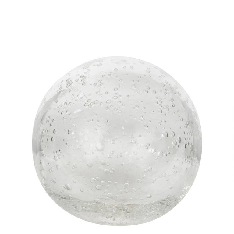 Anora Glass Ball Small Clear