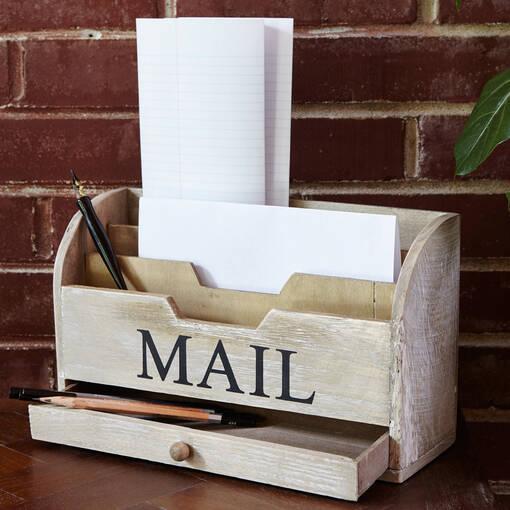Porte-lettres vintage