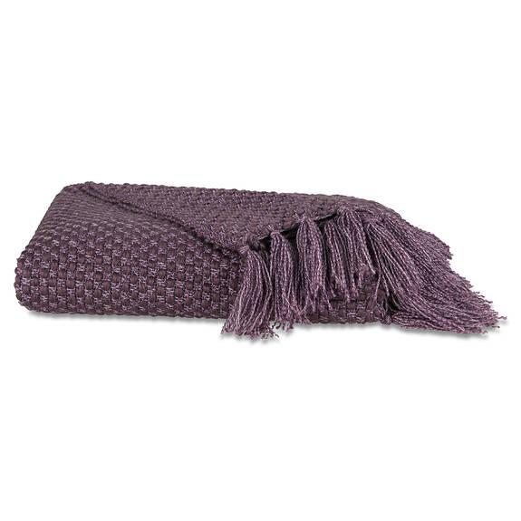 Jeté Semele argenté/violet