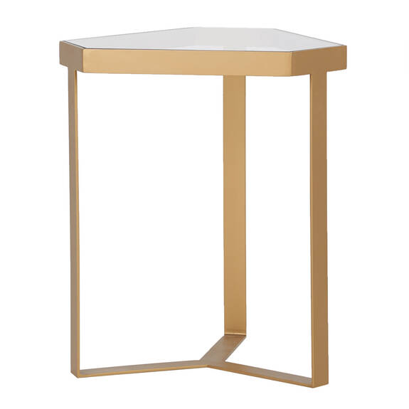 Beaulieu Side Table -Brass