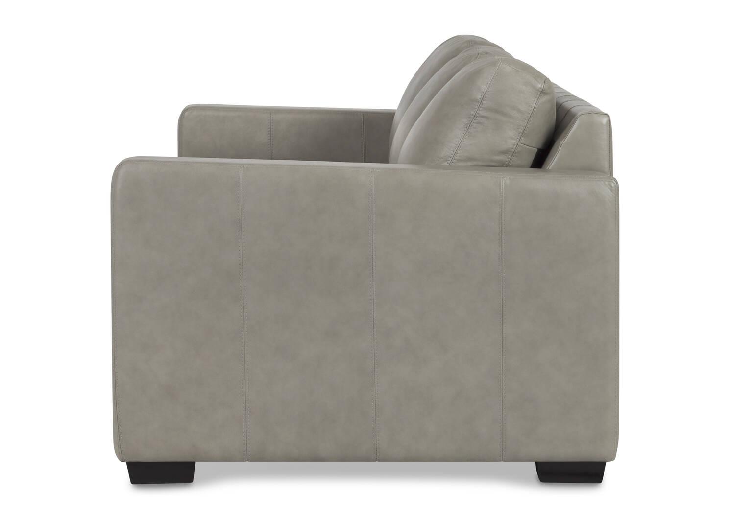 Brewer Custom Leather Sofa