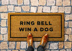 Ring Bell Win a Dog Doormat