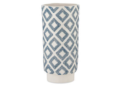 Jora Vase Atlantic/White
