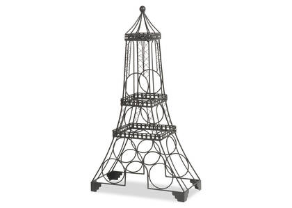 Eiffel Wine Rack Black