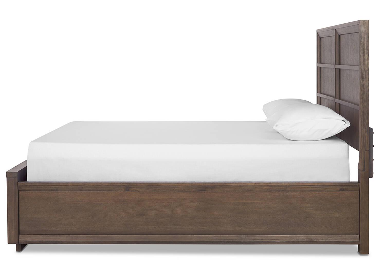 Monteray Storage Bed -Navarro Oak
