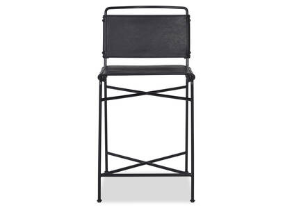 Emmory Counter Stool -Como Black