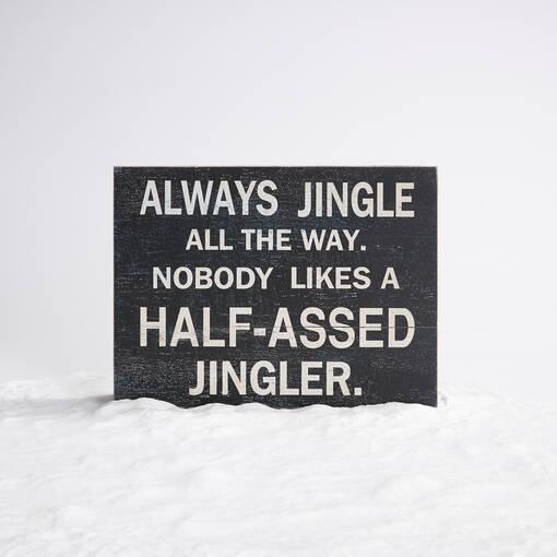 Half Assed Jingler Block