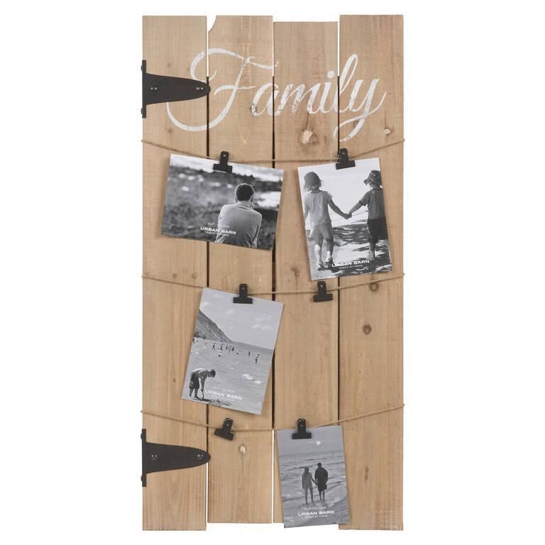Porte-photo mural Family