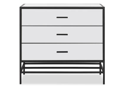 Marilyn 3 Drawer Chest -Black