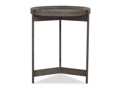 "Edward Side Table 19"" -Hudson Oak"