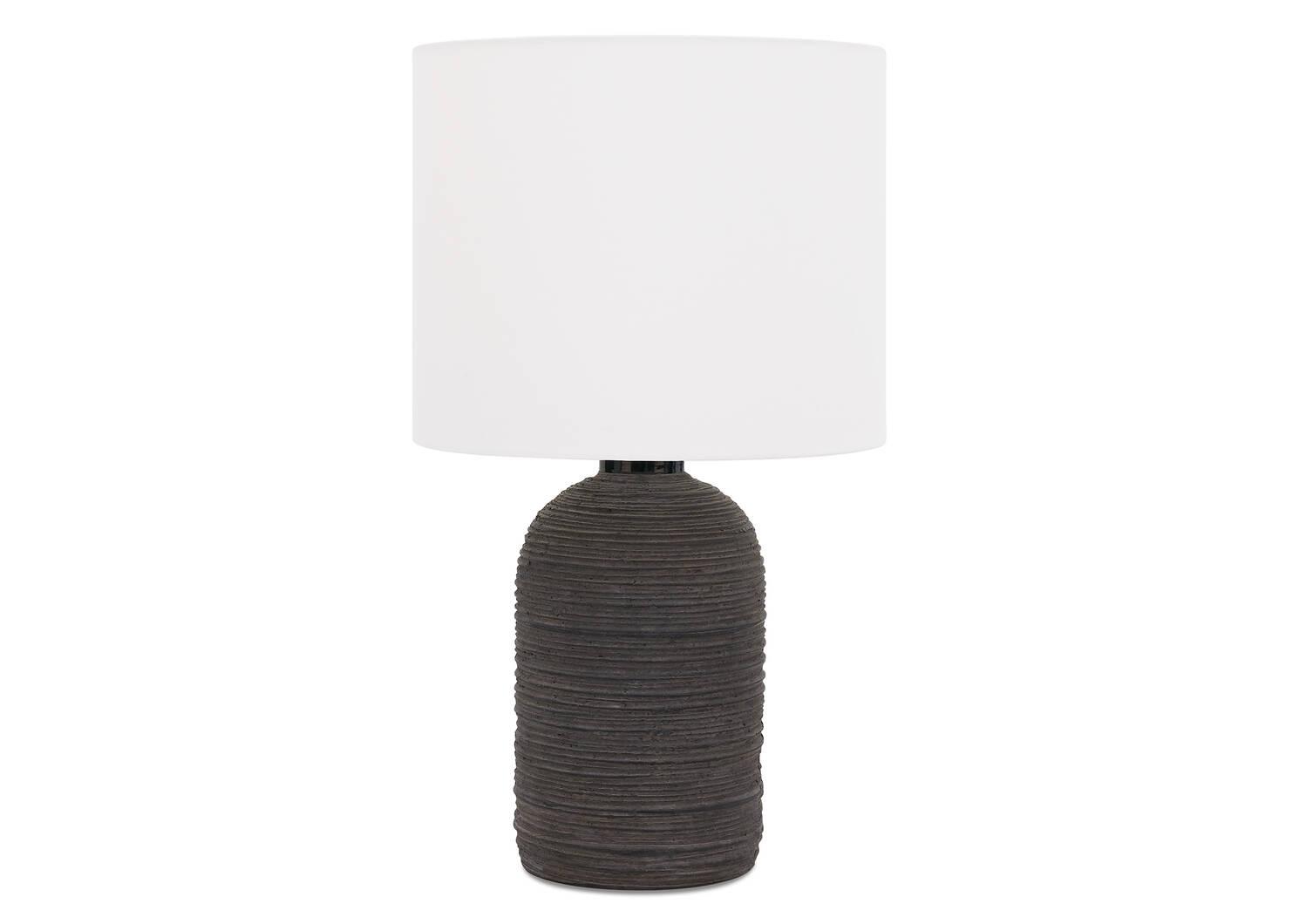 Amya Table Lamp Black