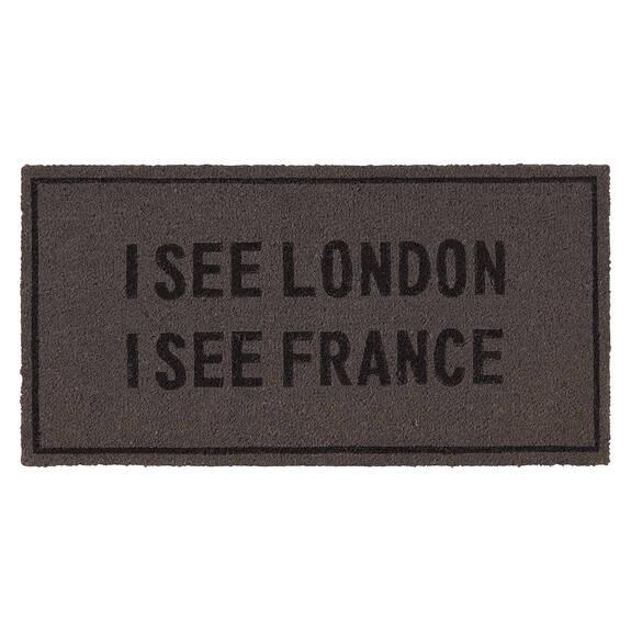 Paillasson I See London gris