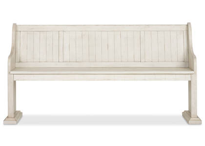 Churchill Bench -Alabaster