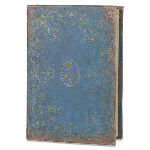 Chronicle Book Box Large Dusty Blue