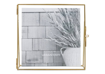 Leela Frame 7x7 Brass