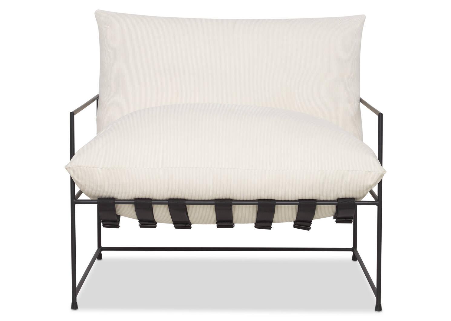 """Mondo Chair 38"""" -Sorrento Vanilla"""
