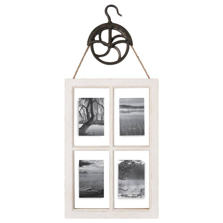 Esten Float Frame 4-5x7 White