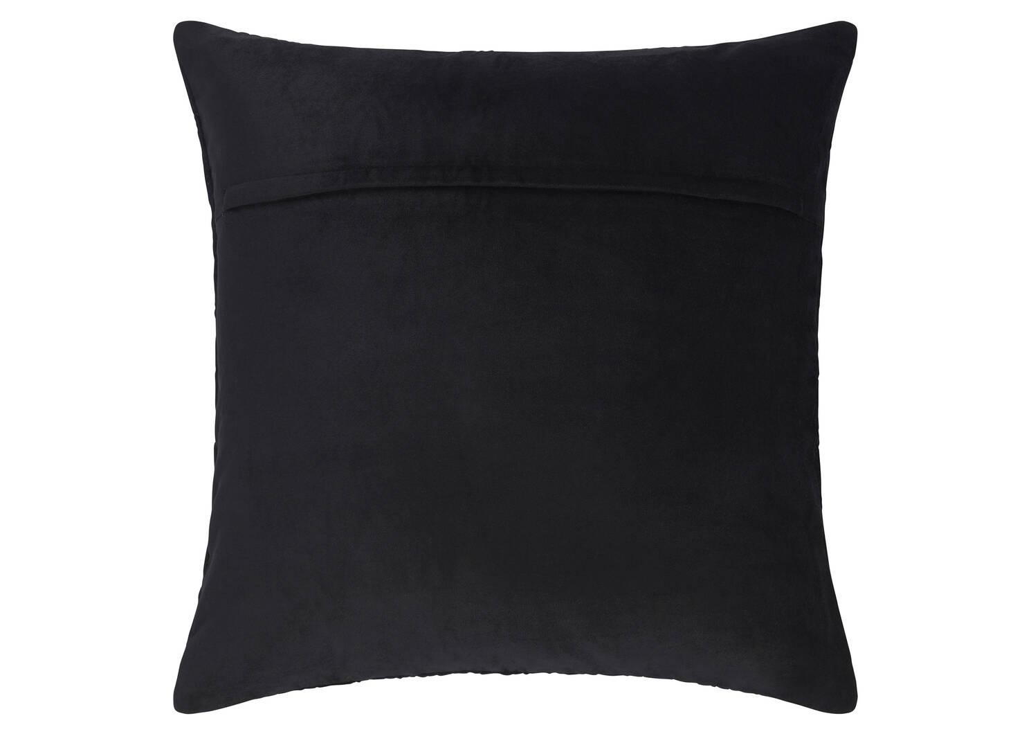 Galerie Velvet Toss 20x20 Black