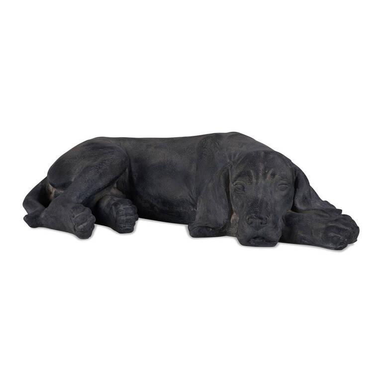 Mulligan Lying Dog Decor