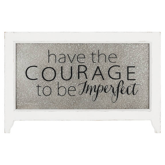 Courage Wall Plaque