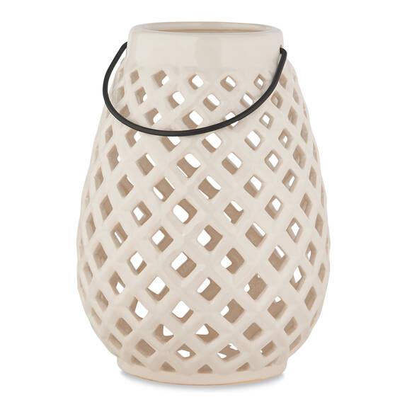 Lanterne Everleigh blanche