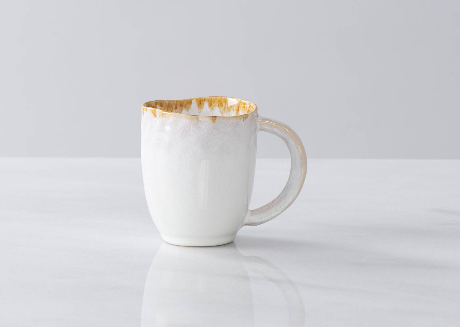 Crofton Glazed Mug White