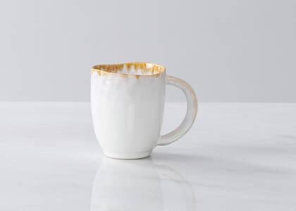 Tasse avec glacis Crofton blanche