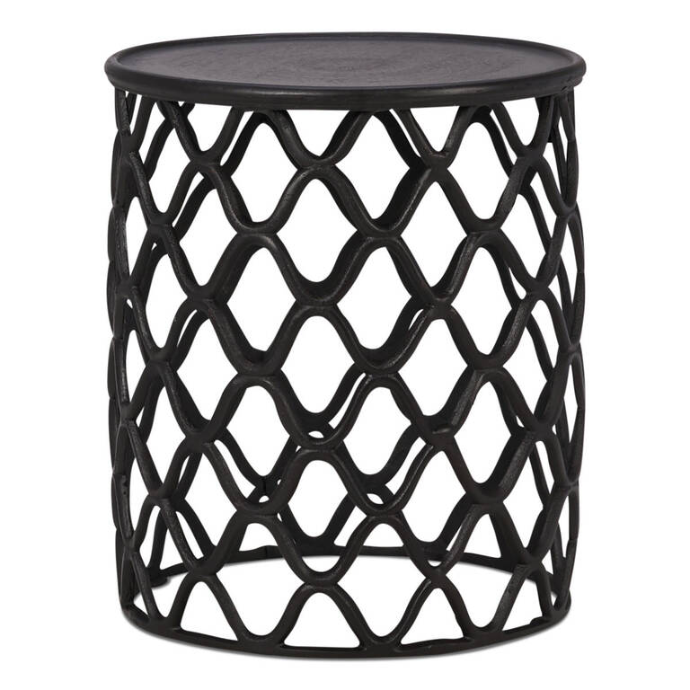Ashbury Side Table -Aged Bronze