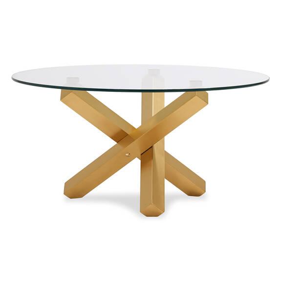 Maverick Coffee Table -Matte Brass
