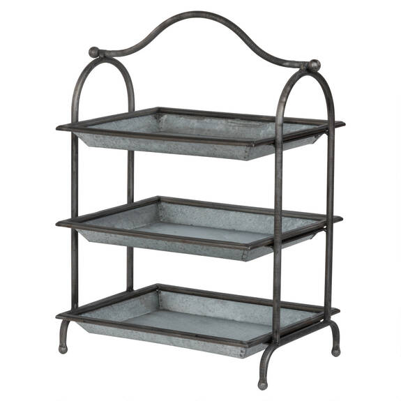 Carlton 3 Tiered Storage Shelf