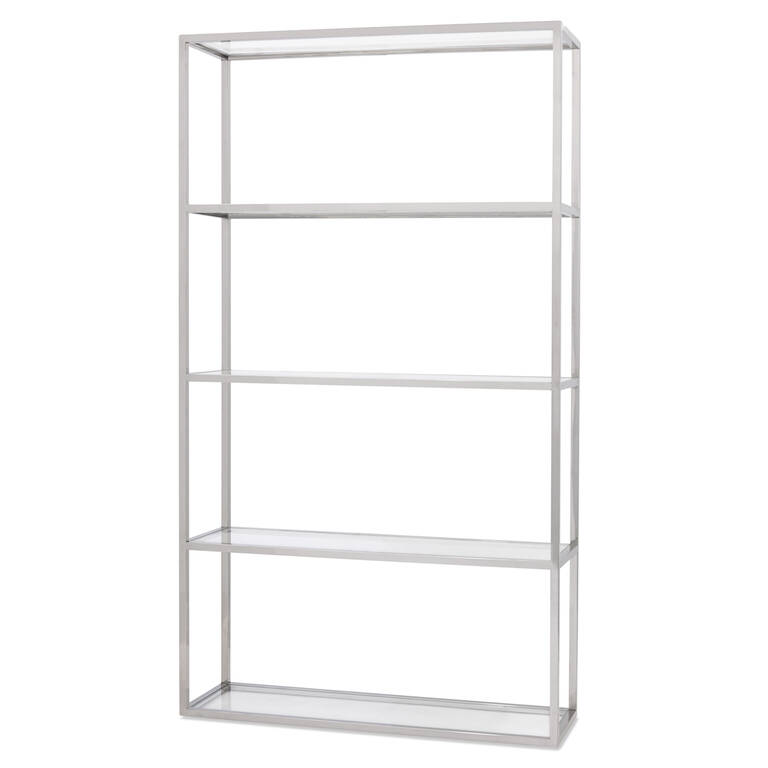 Caswell Display Shelf -Chrome