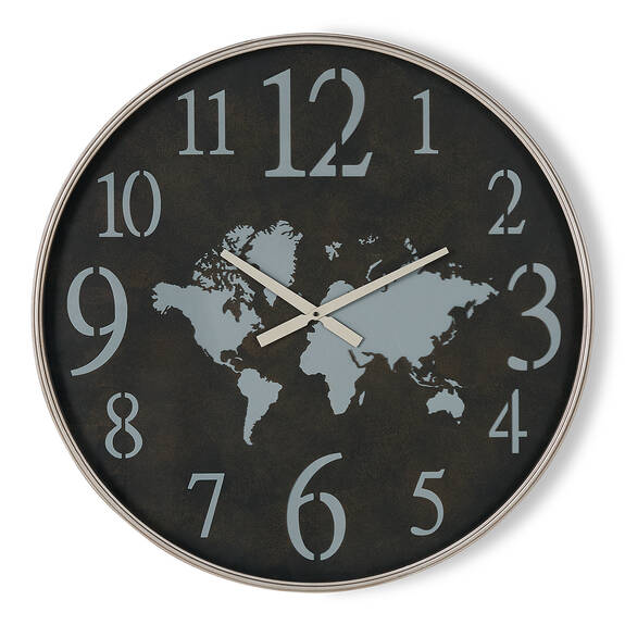 Worldly Wall Clock