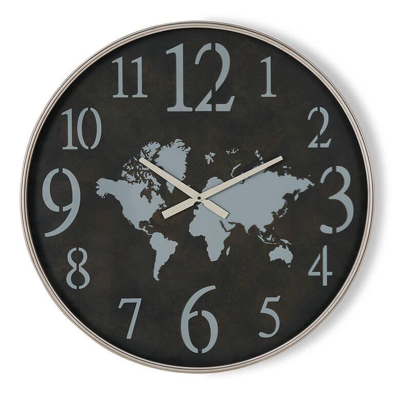 Worldly Wall Clock